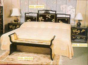 Lacquer Furniture - Bedroom Set